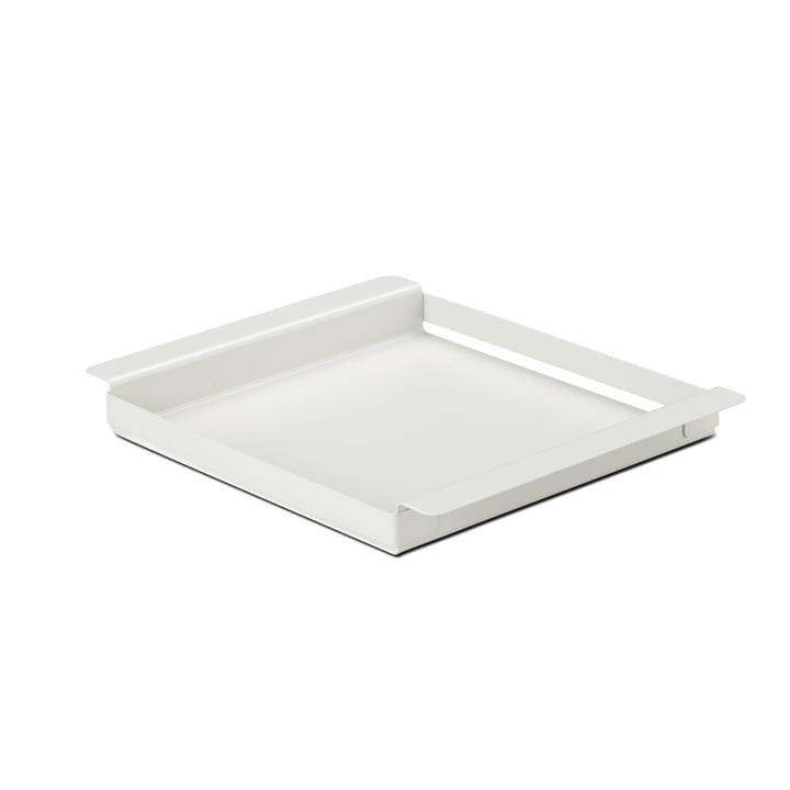 Hug Tray Small von Skagerak in Silver White