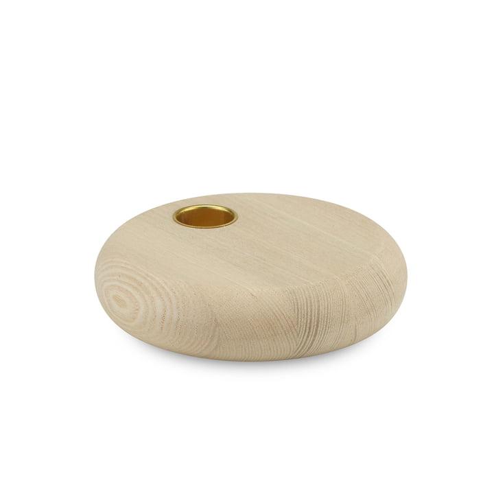 Cookie Kerzenständer von Skagerak aus Eschenholz