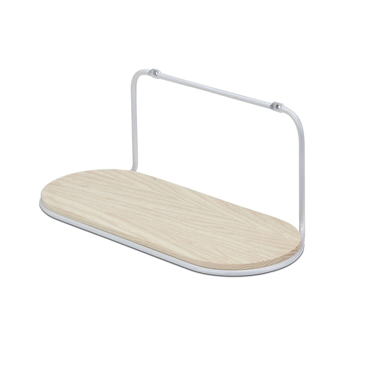 Wire Shelf Oval von Skagerak in Silver White