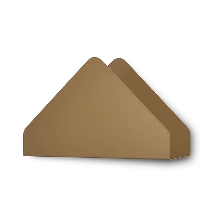 Kuvert Shelf von Skagerak in Cinnamon Brown