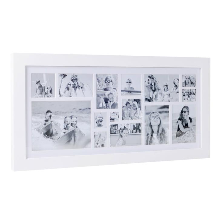 Multi Photo Rahmen für 15 Bilder von XLBoom in Weiß