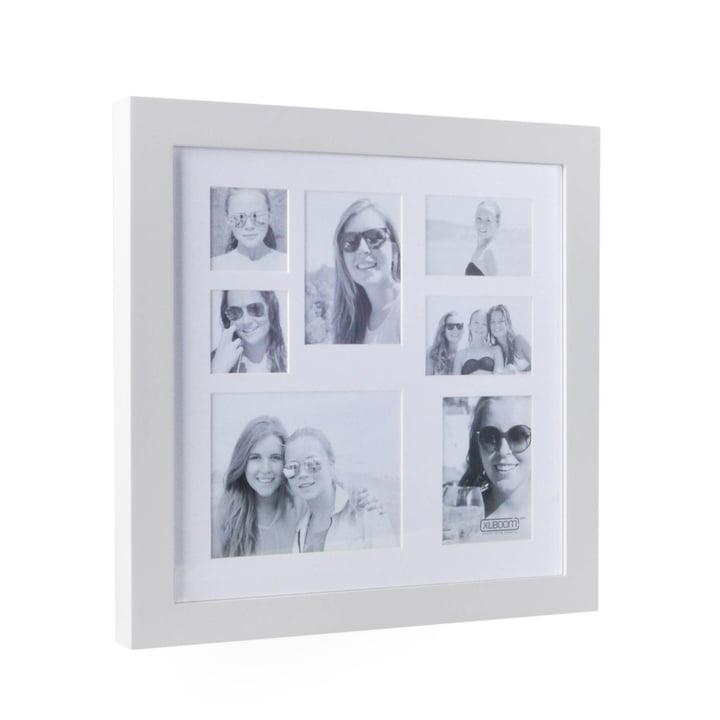 Multi Photo Rahmen für 7 Bilder von XLBoom in Weiß