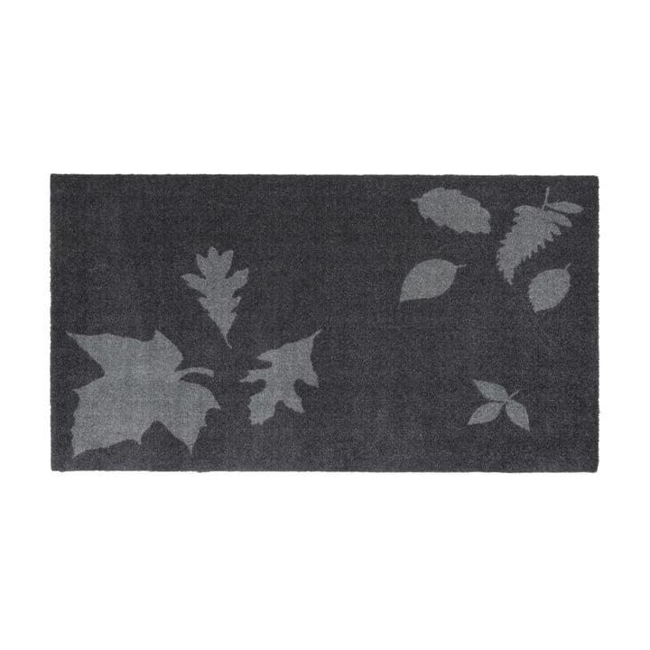 tica copenhagen - Leaf Mega Fußmatte, 67 x 120 cm, grau