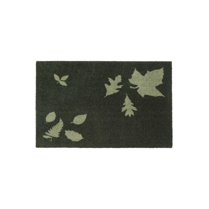 tica copenhagen - Leaf Mega Fußmatte, 60 x 90 cm, grün
