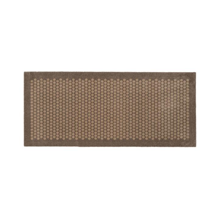 Dot Fußmatte 67 x 150 cm von tica copenhagen in sand