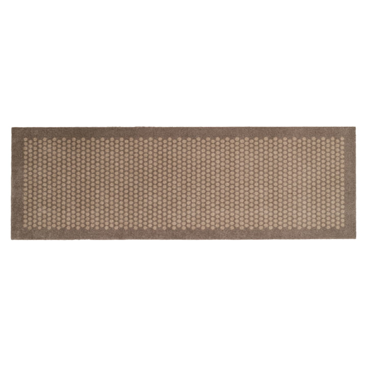 Dot Fußmatte 67 x 200 cm von tica copenhagen in sand