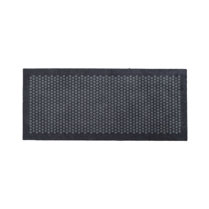 Dot Fußmatte 67 x 150 cm von tica copenhagen in grau