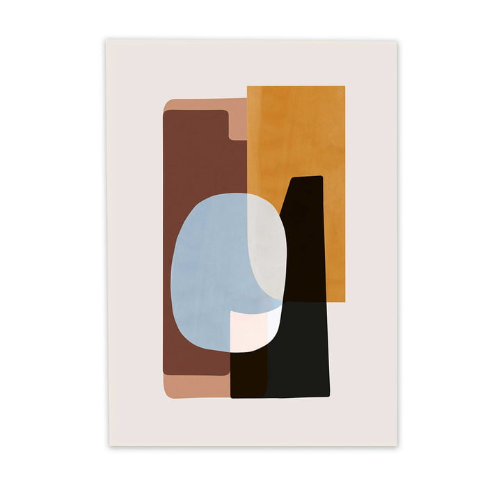 Abstraction Poster 1 von ferm Living