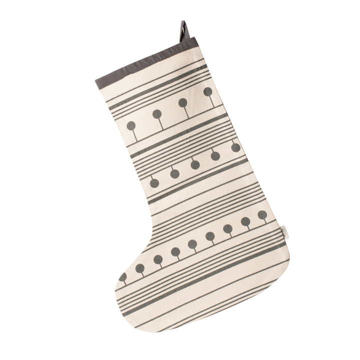 Winterland Christmas Stocking von ferm Living in Grau