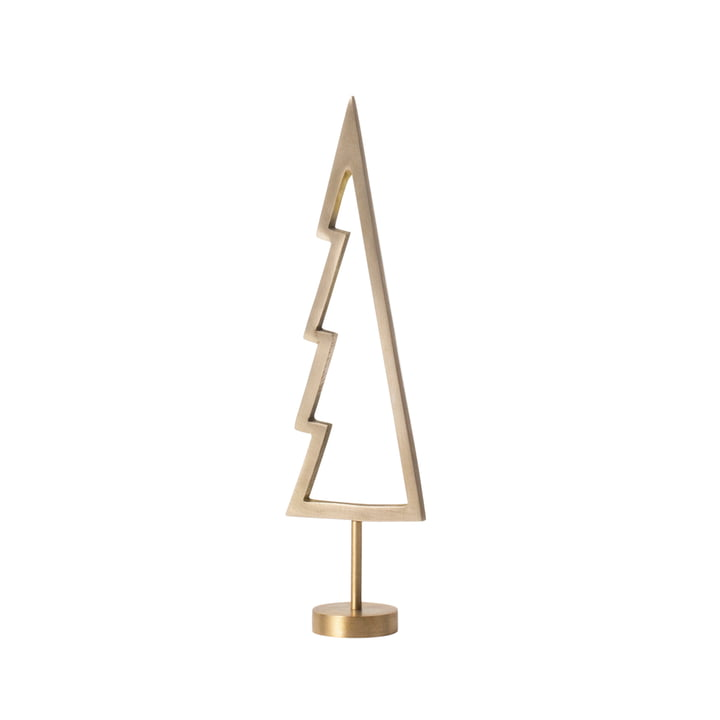 Winterland Brass Tree Outline von ferm Living