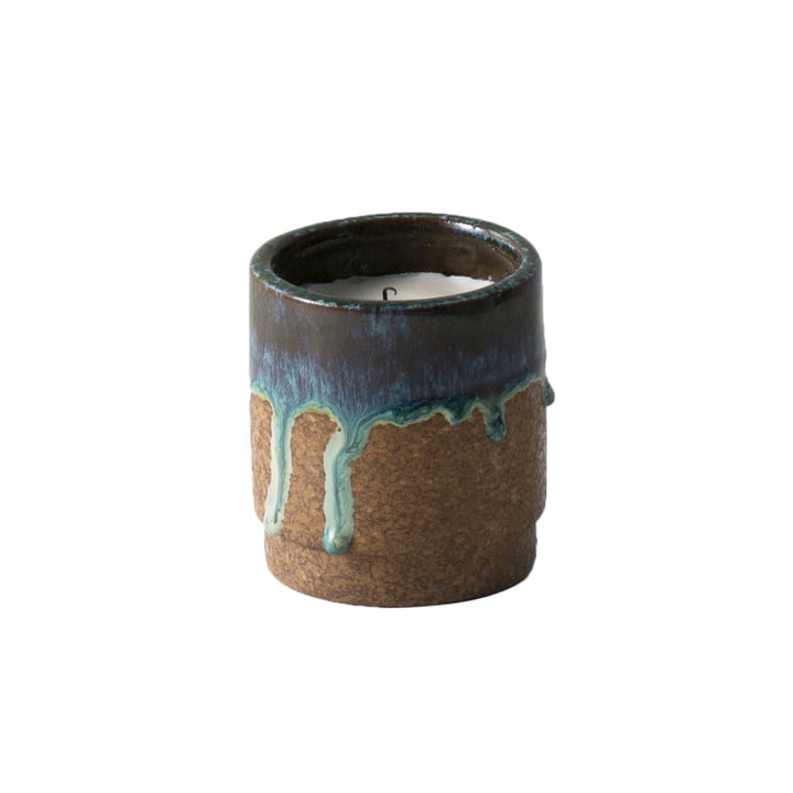 Scented Candle von ferm Living in Running Blue