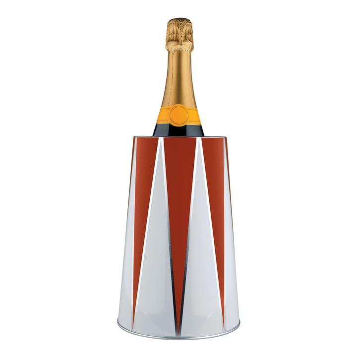 Circus Flaschenkühler 120 cl von Alessi mit Champagneeflasche