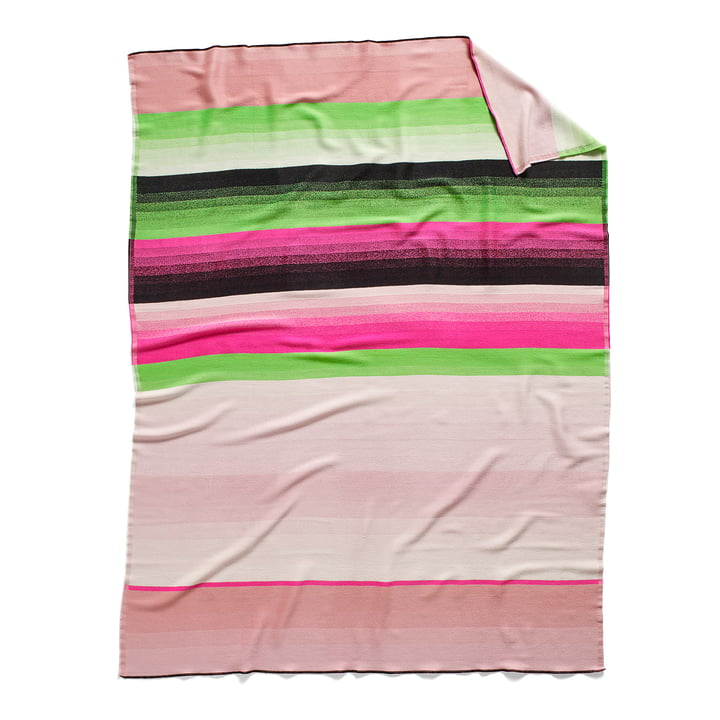 Colour Plaid Wolldecke Farbe: No. 4 von Hay