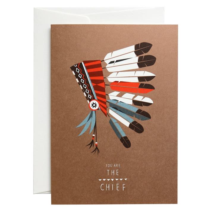 Die pleased to meet - The Chief Grußkarte