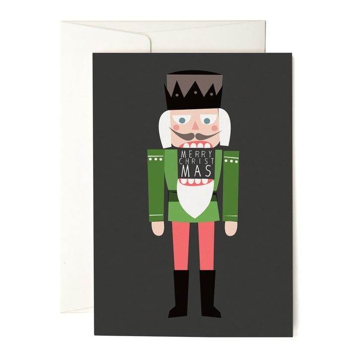 Die pleased to meet - Nutcracker Grußkarte
