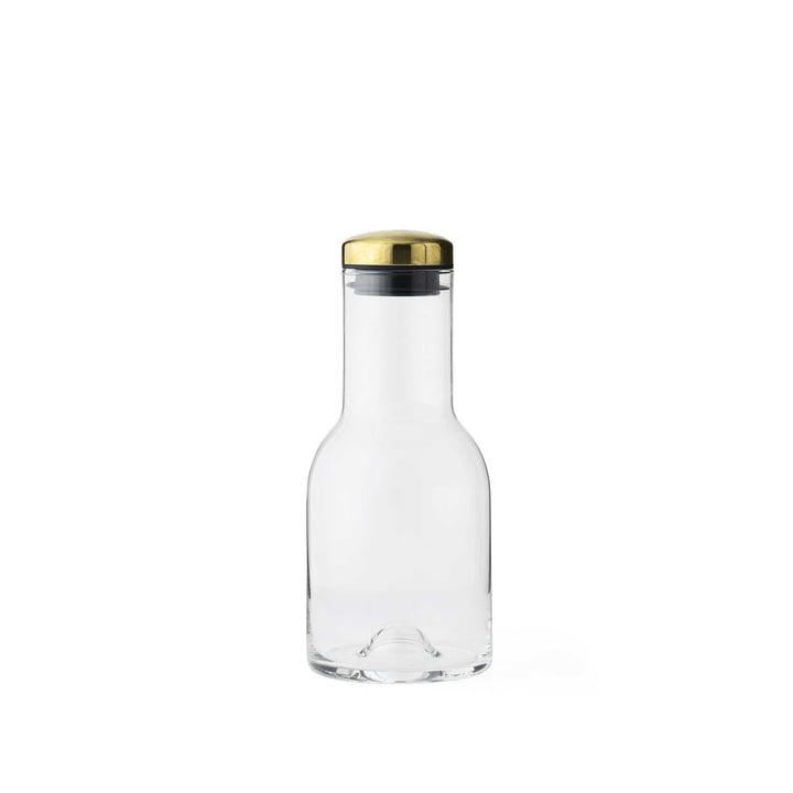 New Norm Wasserflasche 0,5 l von Menu mit Messingdeckel