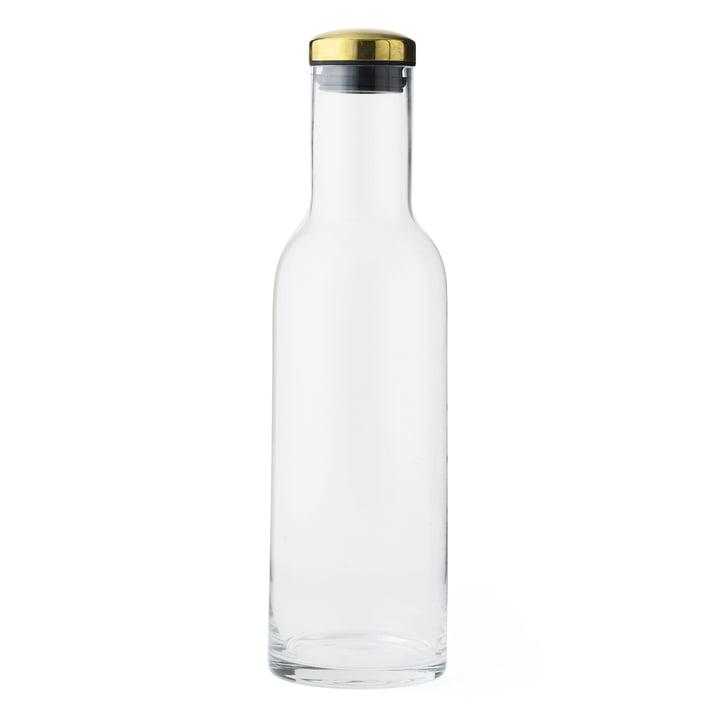 New Norm Wasserflasche 1 l von Menu mit Messingdeckel