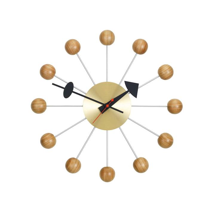 Ball Clock von Vitra aus Kirschbaumholz