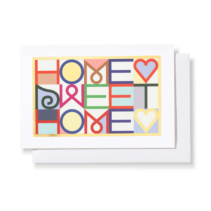 Greeting Card Home Sweet Home von Vitra