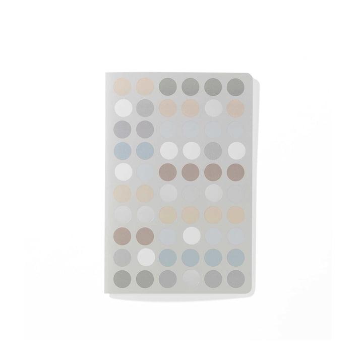 Dot Notebook A6 von Vitra in verschiedenen Pastelltönen