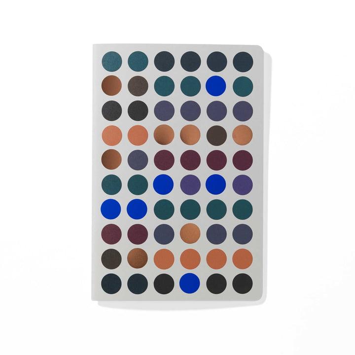 Dot Notebook A5 von Vitra in dunklen Farbtönen