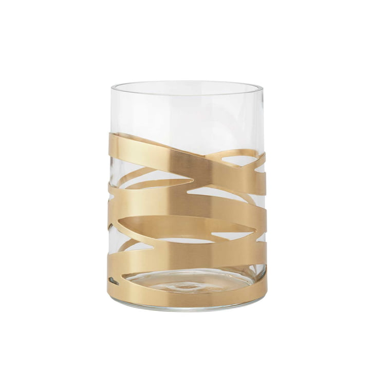 Die Tangle Vase von Stelton, 16,5 cm, medium, Messing