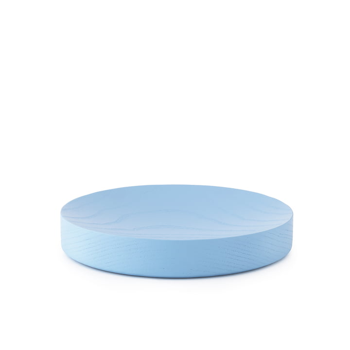 Moon Tray Large von Normann Copenhagen in Powder Blue
