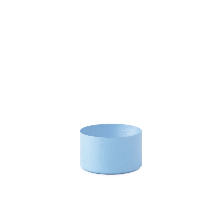 Moon Tray Small von Normann Copenhagen in Powder Blue