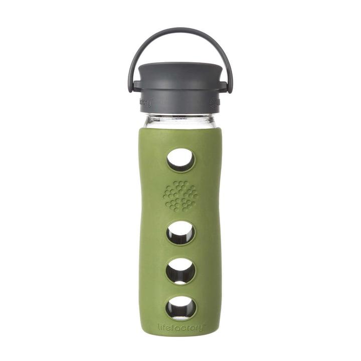 Café Collection 475 ml von Lifefactory in Sage