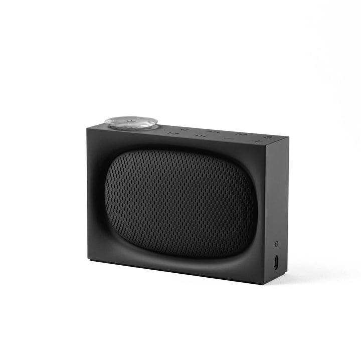 Ona Radio & Bluetoothlautsprecher von Lexon in Schwarz