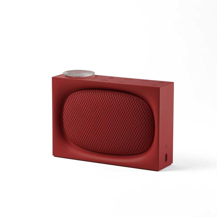 Ona Radio & Bluetoothlautsprecher von Lexon in Rot