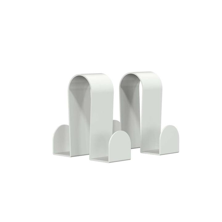 Die Frost - Haken für Bukto, 2er-Set in weiß