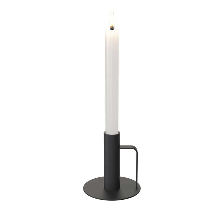 Der Kerzenhalter von Frost, Ø 100 x 100, schwarz