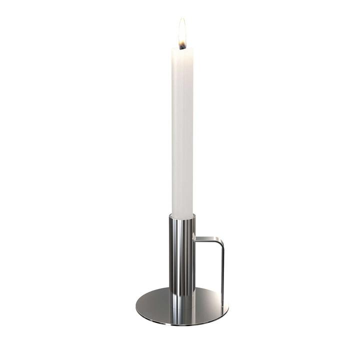Der Kerzenhalter von Frost, ø 100 x 100, Edelstahl poliert