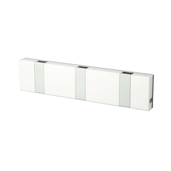 Knax Lite 3er Garderobe von LoCa in Weiß