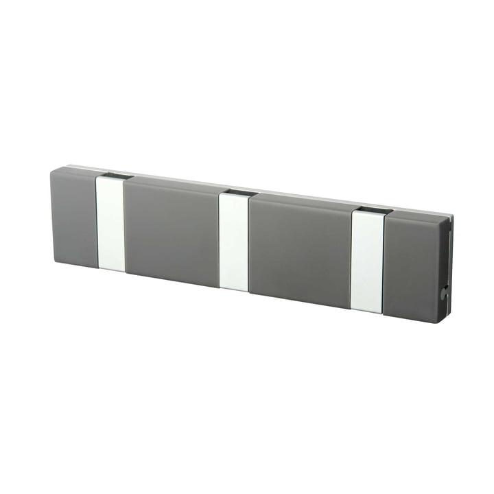 Knax Lite 3er Garderobe von LoCa in Grau