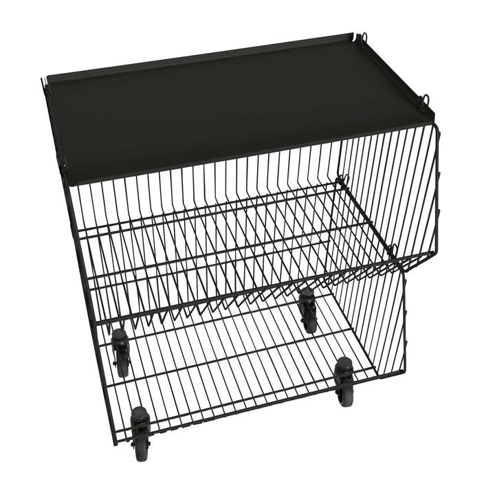 Pension für Produkte - Wohnkorb 2er-Set, schwarz