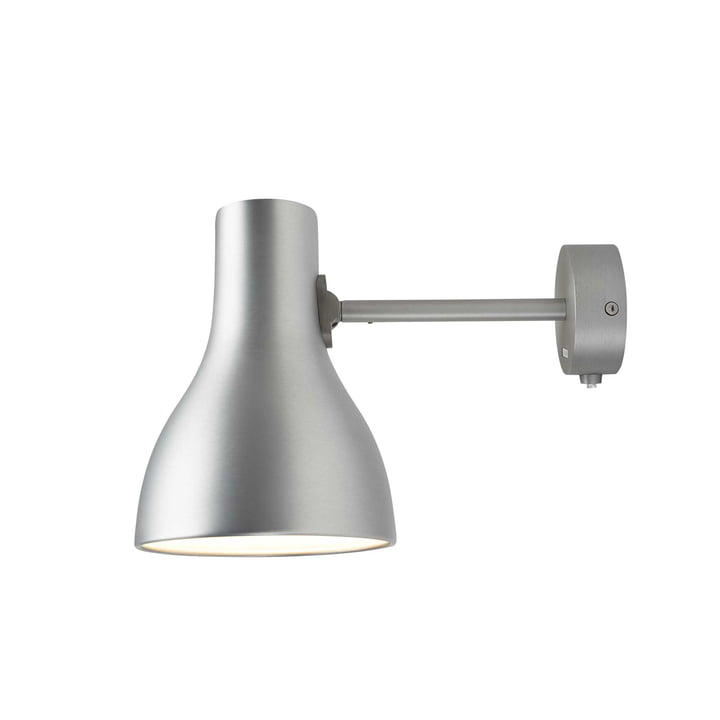 Type 75 Wandleuchte von Anglepoise in Brushed Aluminium