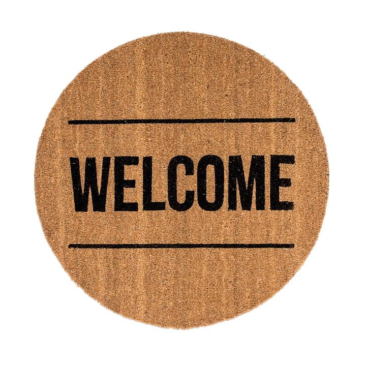 Fußmatte Welcome von Bloomingville