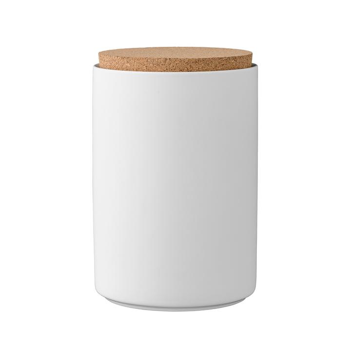 Vorratsdose mit Deckel H16 cm von Bloomingville in Weiß
