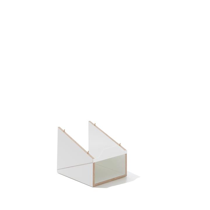 emform - Shustack Schuhregal, weiß / weiß