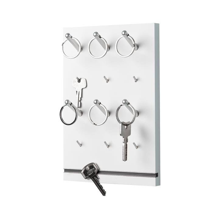 Müller Möbelwerkstätten - Pin Schlüsselbrett, weiß