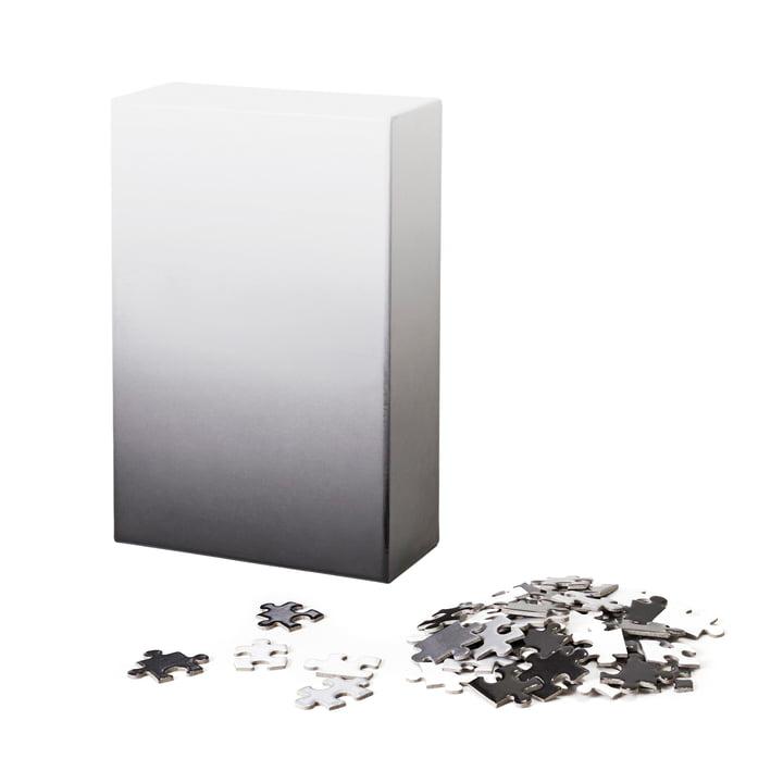 Areaware - Gradient Puzzle, schwarz/weiß