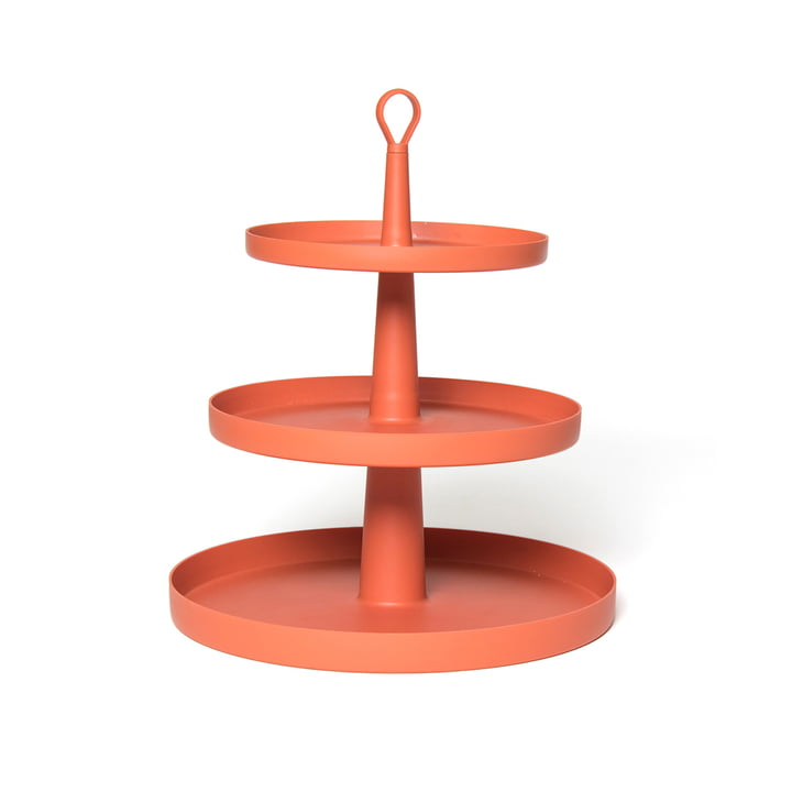 Tiers Etagere von Ommo in Paprika