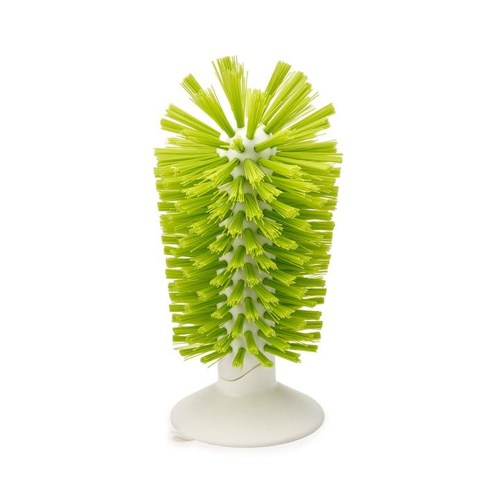 Brush-up Saugnapf-Spülbürste von Joseph Joseph in Weiß / Grün