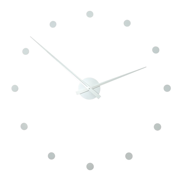 Radius Design - Flexible Wanduhr, weiß