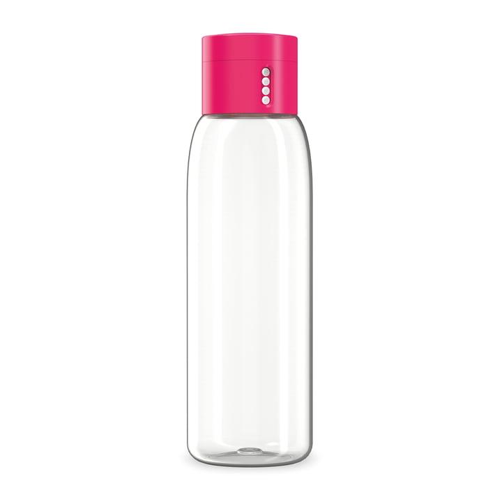 Dot Wasserflasche von Joseph Joseph im Pink
