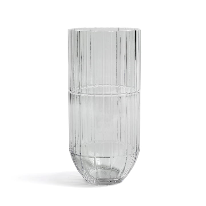 Hay - Colour Vase Glasvase, XL, transparent