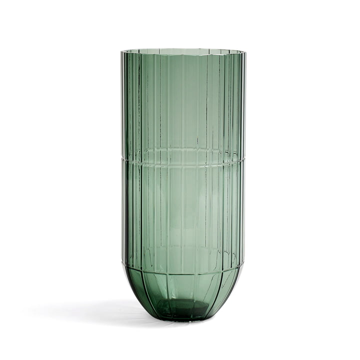 Hay - Colour Vase Glasvase, XL, grün