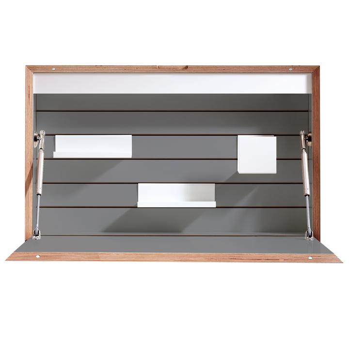 Müller Möbelwerkstätten - Flatbox Sekretär, anthrazit (RAL 7039)